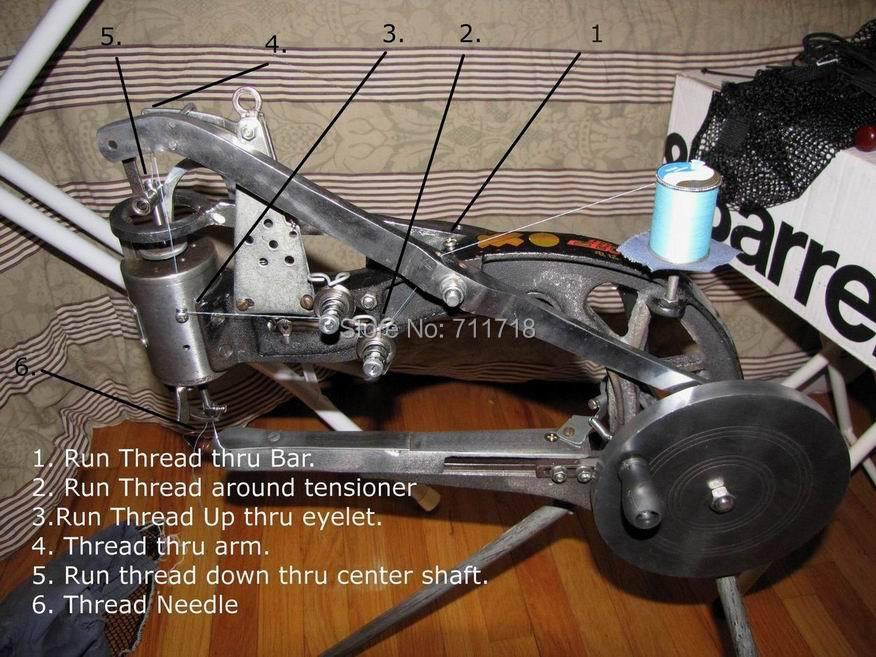 New Manual Shoe Sewing / Mending / Repair Machine