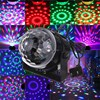 Mini RGB LED Crystal Magic Ball Stage Effect Lighting Lamp Party Disco Club DJ Light Show