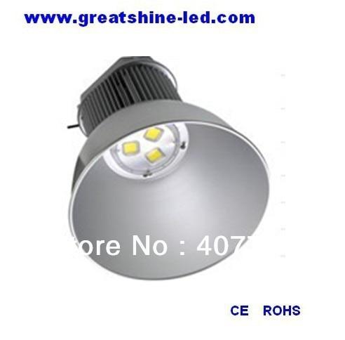 висококачествен алуминий 3бр 60W COB светодиодни чипове 180w доведе висока промишлена светлина, използвана за складове и тунели