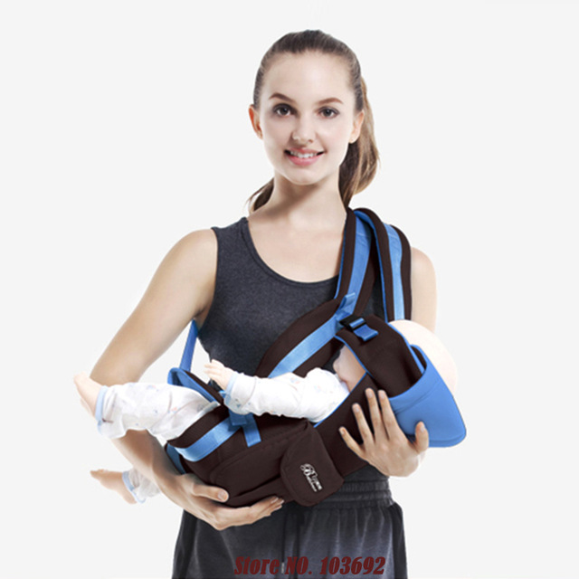 Front Facing Infant Sling Backpack Pouch Wrap Baby Carrier Kangaroo