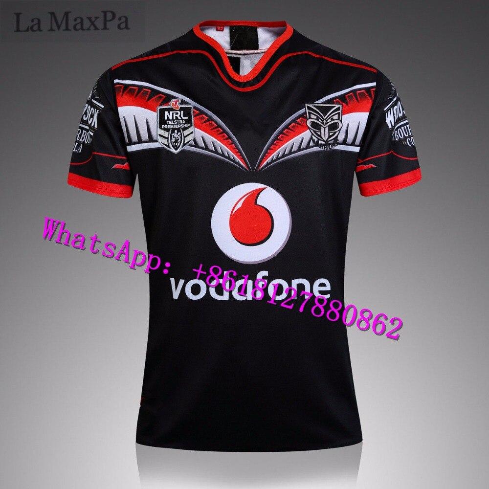 все цены на La MaxPa for New Zealand Warriors Rugby 2016-17NRL Football Wear size s-3XL онлайн