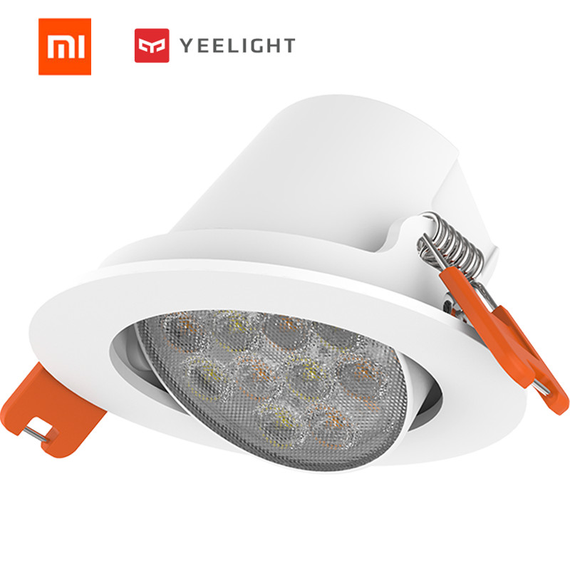 Xiaomi Mijia Yeelight YLSD04YL Smart 5W 400LM 2700-6500K Ceiling Down Light Mesh Edition App Control AC220V Yeelight Spotlight