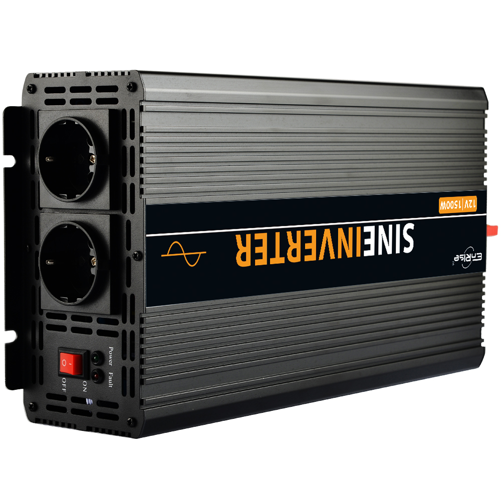 High efficient Home inverter pure sine wave 1500W 3000W(peak)12v to 220v -in Inverters & Converters from Home Improvement
