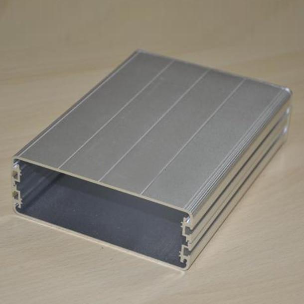 Алюминиевая коробка Инструмент оболочки электрический корпус DIY 122X44X160 мм НОВЫЙ