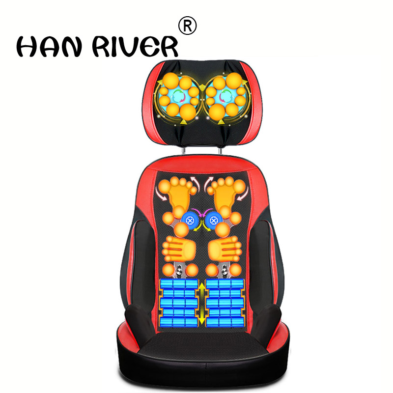 household body shoulder Heating Relax massage Massage chair device neck massage full-body multifunctional pillow cushionhousehold body shoulder Heating Relax massage Massage chair device neck massage full-body multifunctional pillow cushion