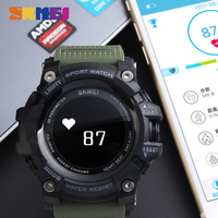 SKMEI Smart Watch Men HeartRate Bluetooth Pedometer Sports Watches Calories Call Reminder Digital Wristwatches Relogio Masculino
