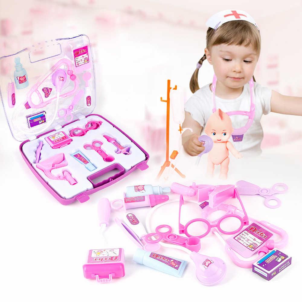 Новейшие Детские игрушки новый стиль моделирование медицина коробка игрушки ролевые игры Детский игровой набор «Доктор» Развивающие игрушки набор Прямая поставка