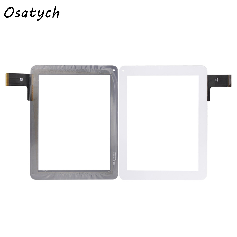 White 9.7 Inch Capacitive Touch Screen for  IDsD 10 iDsD10 3G Tablet Digitizer Glass Panel Sensor Free Shipping for navon platinum 10 3g tablet capacitive touch screen 10 1 inch pc touch panel digitizer glass mid sensor free shipping