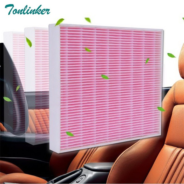 Tonlinker Cabin Air Filter 1Pcs For Chevrolet Cruze Cavalier Malibu XL/Buick Envision 2014 2017 2018 Efficient filtration PM2.5