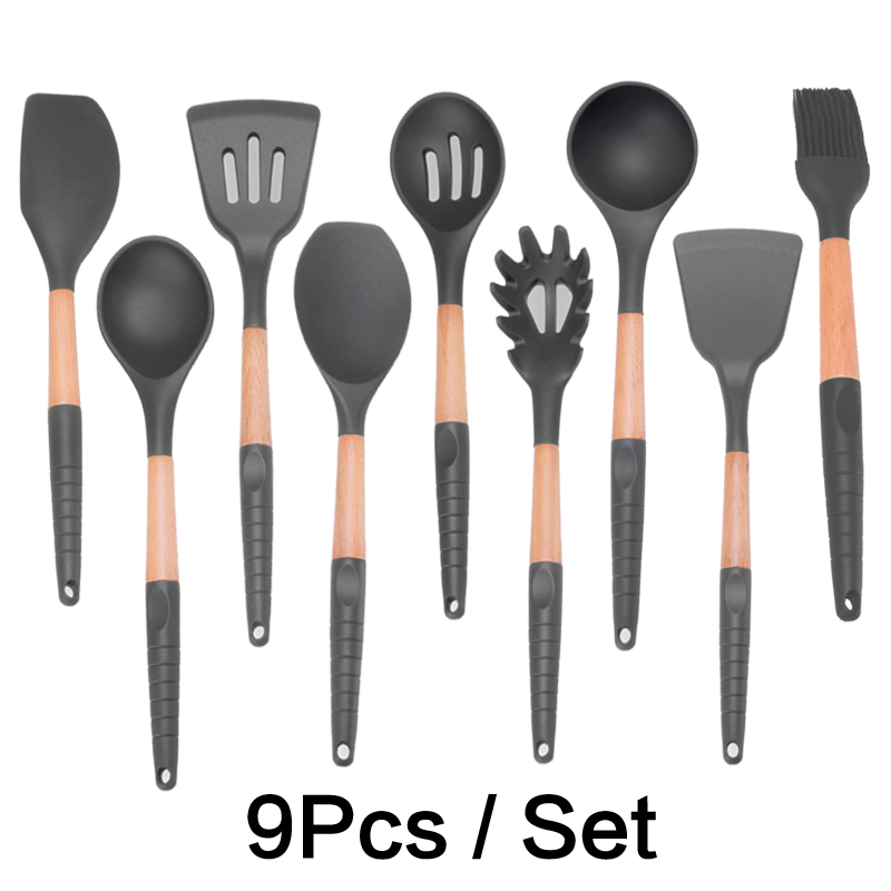 US $3.99 43% OFF|Silicone Baking Nonstick kitchenware Cookware Cooking Tool  Gadget Set Kitchen Gadgets Accessories Tools Sets Supplies-in Cooking Tool  ...