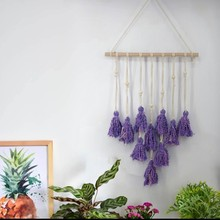 Nordic Braided Tapestry Photo Wall Hanging Macrame Decor Boheme Style Home Decoration Accessories For Living Room