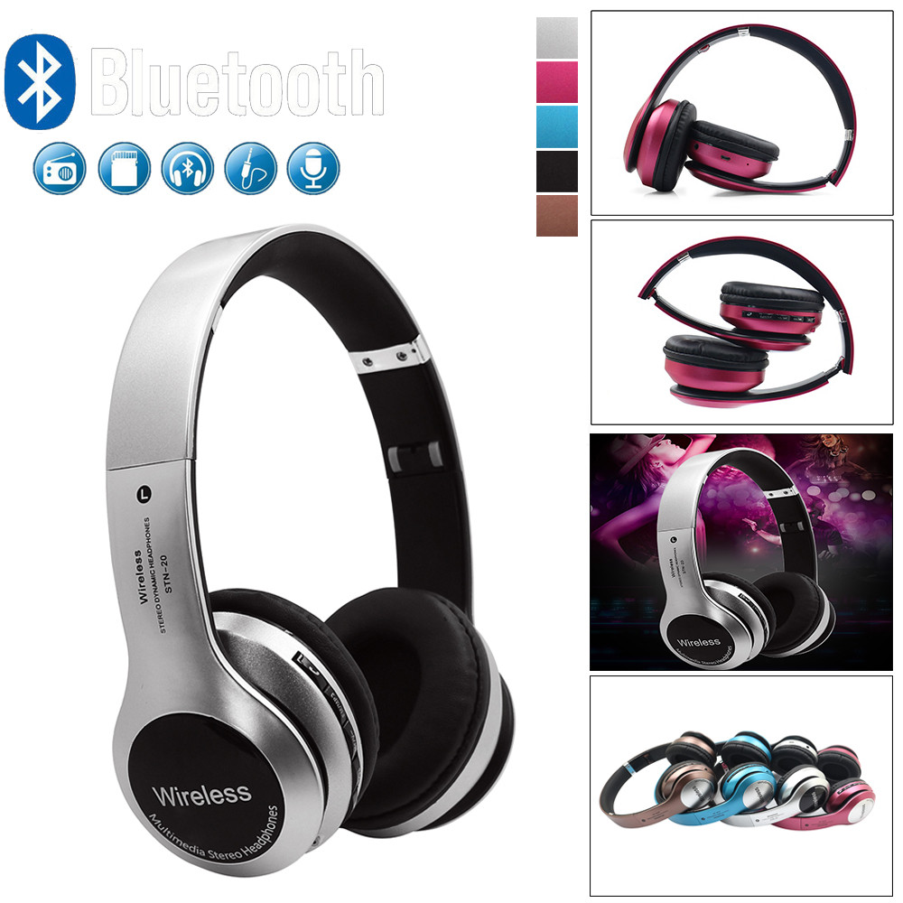 HIPERDEAL B20 Wireless Headphones Bluetooth 4.1 Headset Noise Cancelling Over Ear With Microphone Game Music Phone Enjoy BAY07 hiperdeal b20 wireless headphones bluetooth 4 1 headset noise cancelling over ear with microphone game music phone enjoy bay07