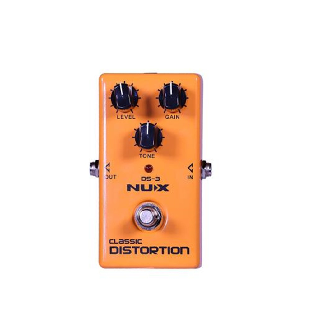 nux ds 3 british distortion pedal analog guitar accessories tube distortion effects pedal crunch. Black Bedroom Furniture Sets. Home Design Ideas