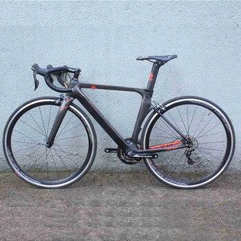 Completo, bicicleta de carretera 2018 fijación velocidad bicicleta Toray t800 XXS/XS/S/M/L 22 velocidad con shimano 4700 5800 de carbono bicicleta de carretera