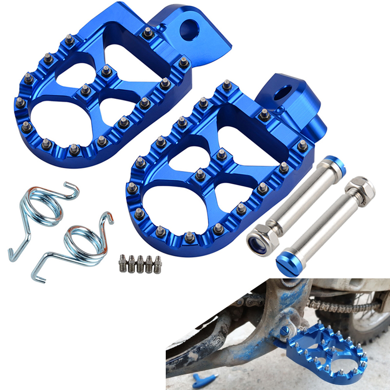 Footrest Footpeg Foot Pegs Rests For Yamaha YZ 65 85 125 250 125X 250X 250FX 450FX WR 250F 450F YZF WRF 250 450 YZ125 YZ250 2018(China)