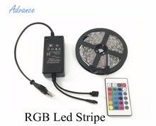 RGB 5M SMD5050 Changable Color Led Stripe With Driver Sensor Remote Control Home Decoration Living Room Upgrade 12V FlexibleTape