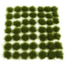 147 шт травяной кластер статическая трава пучки для 1:35 1:48 1: 72 1: 87 песок стол архитектура модель модели строительные наборы-темно-зеленый
