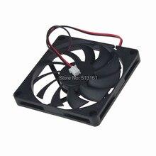 1PCS DC 12V 2Pin 80*80x10mm 8cm 80mm Computer Cooling Fan 8010s цена