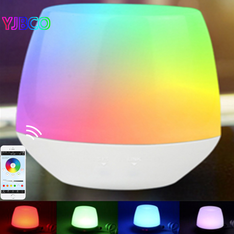 IBox1 2.4G Hub RF Remote Wifi Ler With RGB Light Wireless Control For Milight Led Bulbs Support IOS Android APP,DC5V