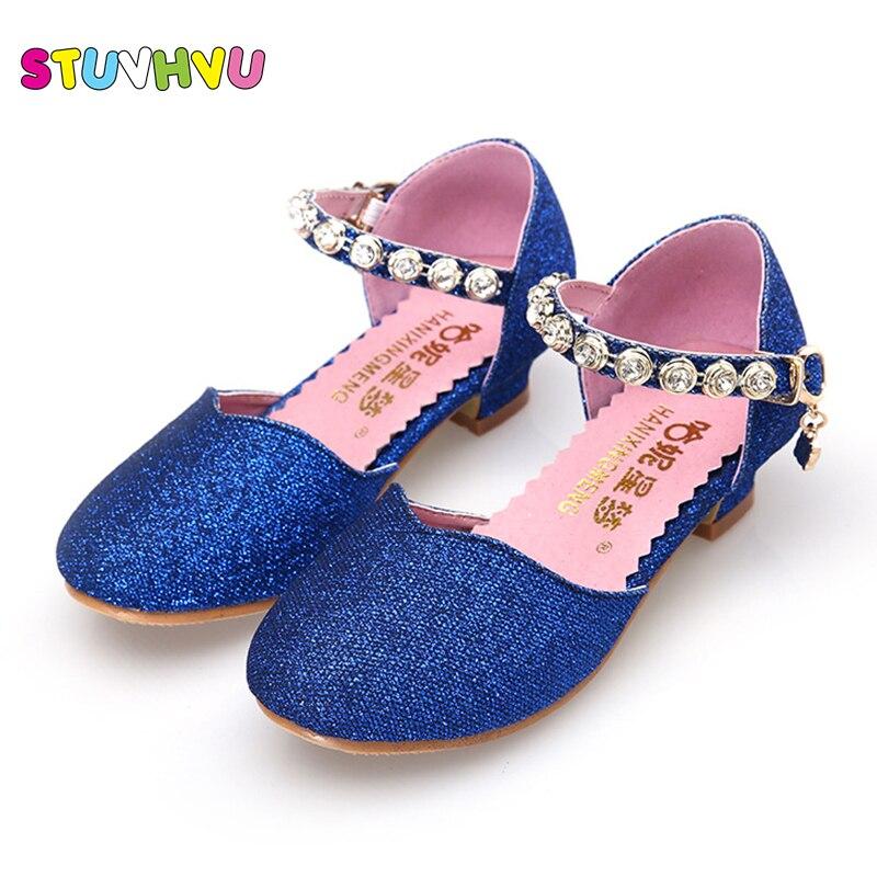 Strong-Willed 2019 Children Fashion Summer Shoes For Girls Soft Bottom Air Mesh Sandals Kids Beach Sandals Girls Summer Dress Shoes Children's Shoes