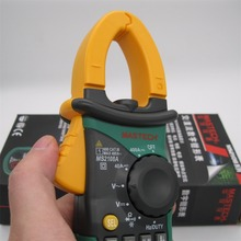 MasTech Digital Multimeter Amper Clamp Meter MS2108A Current Clamp Pincers AC/DC Current Voltage Capacitor Resistance Tester