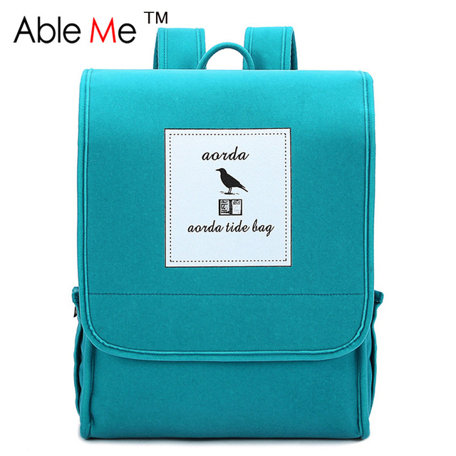 2017 Zipper And Hasp Children Backpack For Teenage Girls And Boys Korean Style High Student School Bag Gift For Children