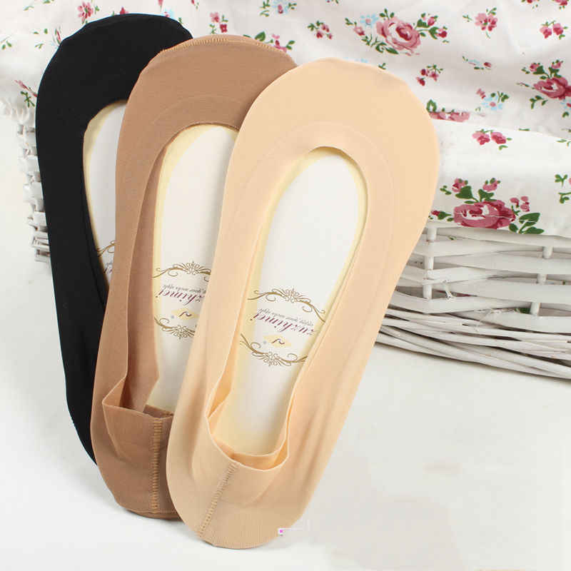 7487ac81656 1 Pair Women Girl s Lace Antiskid Invisible Shallow Mouth Short Ankle  Female Boat Low Cut Cozy
