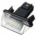 12V LED Anzahl License Platte Licht Lampe Für Peugeot 206 207 306 307 406 407 Für Citroen C3 C4 c5 Auto Lizenz Platte Licht