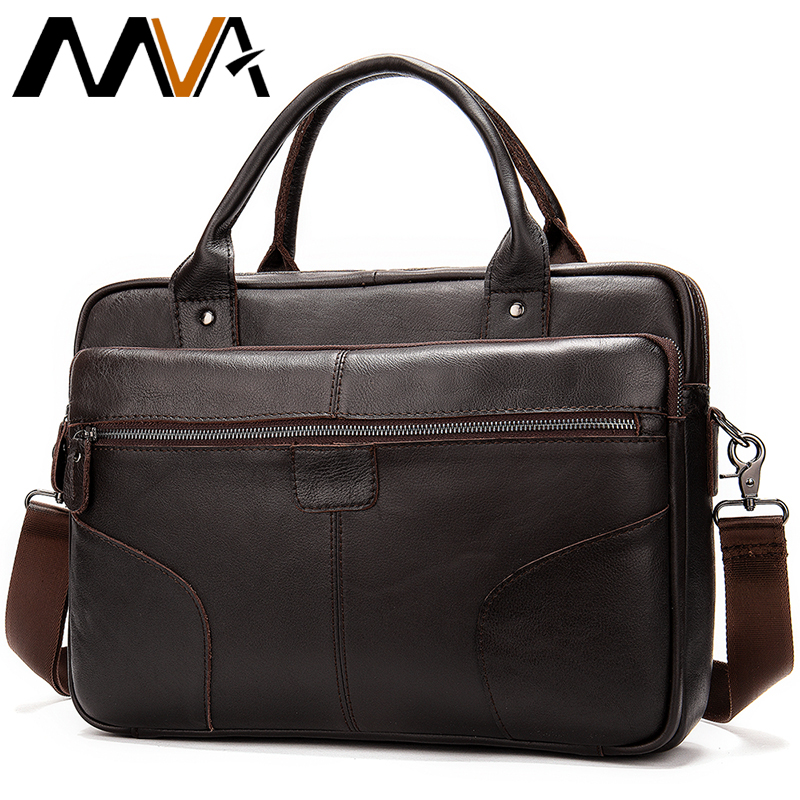 Men's Briefcase Bag Men's Genuine Leather Briefcases Men Causal Business Laptop Bag Men Leather Mens Briefcase Male Maletín 8626