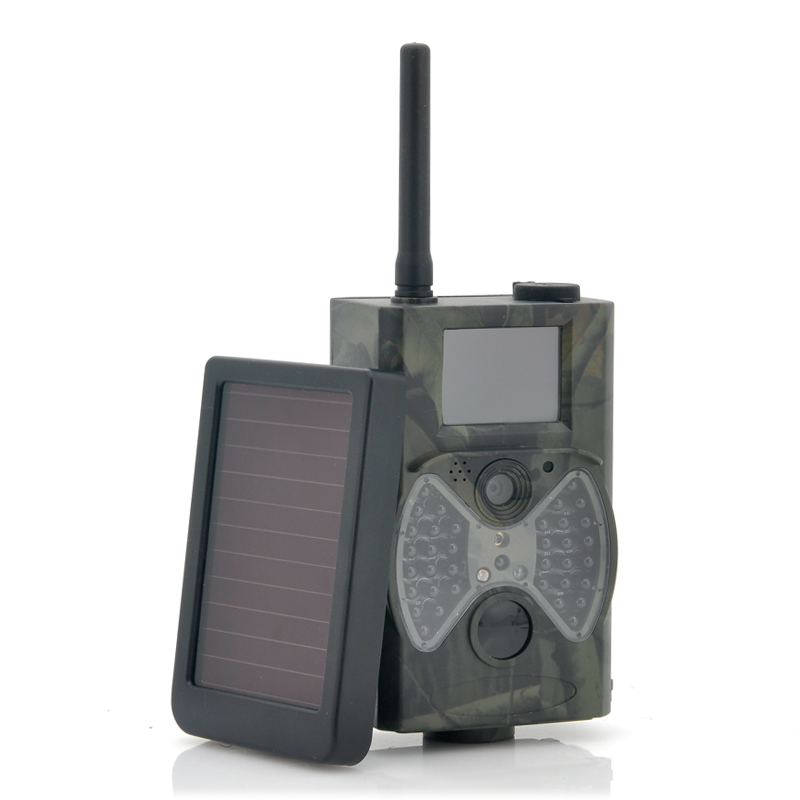 HC300M Scouting font b Hunting b font camera GPRS MMS Digital 940NM Black Infrared Trail Camera