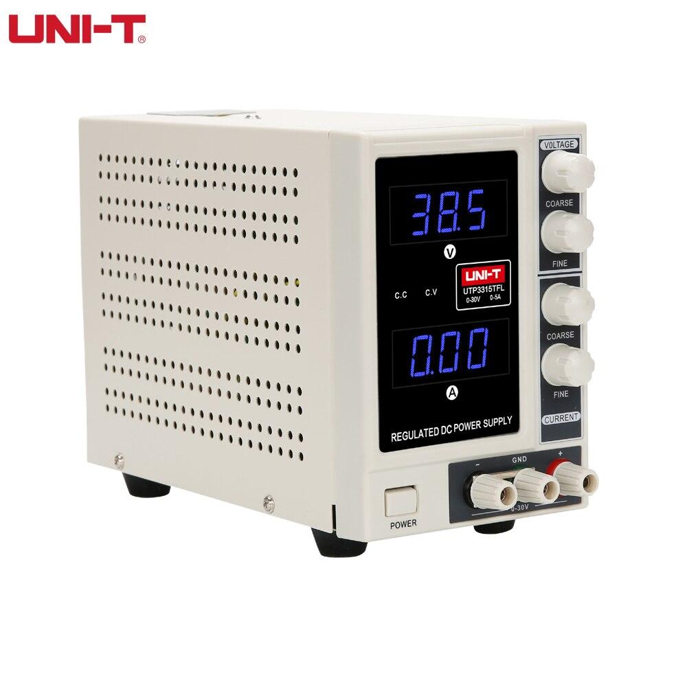 UNI-T UTP3315TFL-5A Current output voltage adjustable 0~30v & input AC220/110V Instrument DC power supply for phone repair lm2596hv dc dc adjustable voltage regulator module 5 60v input 1 25v 30v output