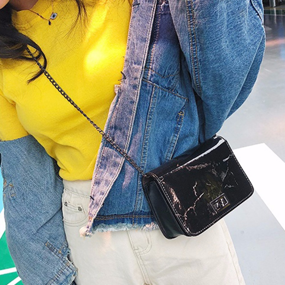 Women Marble Pattern Shoulder Bag Tote Handbag Leather Messenger Bags Hobo Purse Fashion Design FemaleWomen Marble Pattern Shoulder Bag Tote Handbag Leather Messenger Bags Hobo Purse Fashion Design Female
