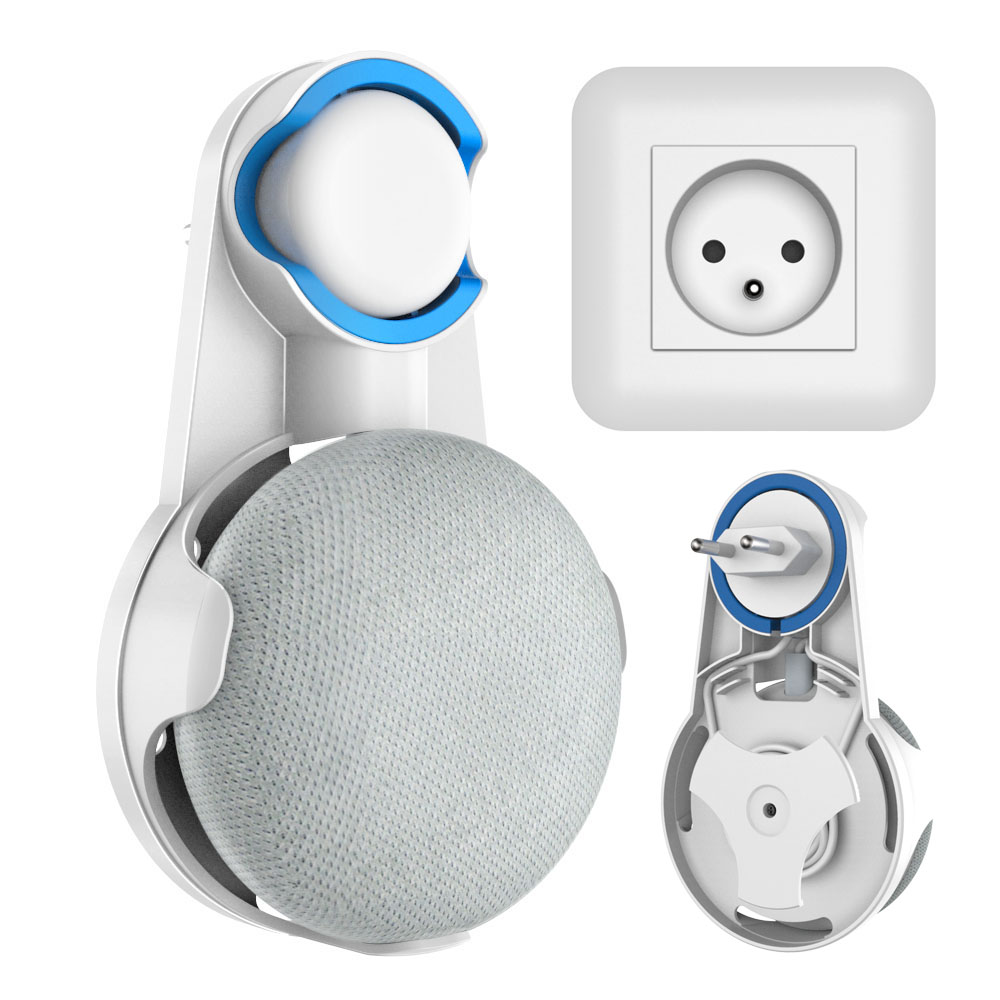 For Google Home Mini Wall Mount Outlet Hanger Stand, Compact Holder Case Plug, Plug-in Mount StandFor Google Home Mini Wall Mount Outlet Hanger Stand, Compact Holder Case Plug, Plug-in Mount Stand