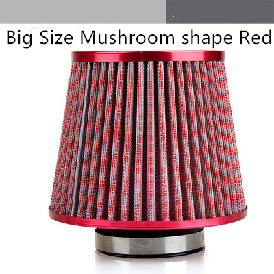 Universal Car Air Filter Vehicle Induction Kit High Power Mesh Cone Car Air Filter Carros Coche Kosh Red Black Blue FinishUniversal Car Air Filter Vehicle Induction Kit High Power Mesh Cone Car Air Filter Carros Coche Kosh Red Black Blue Finish