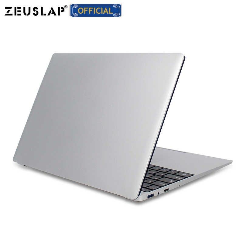 15.6 Inch I7 CPU Laptop Với 8G RAM 1TB 512G 256G 128G SSD Siêu Mỏng Laptop ultrabook Intel Quad Core Win10 Máy Tính Xách Tay