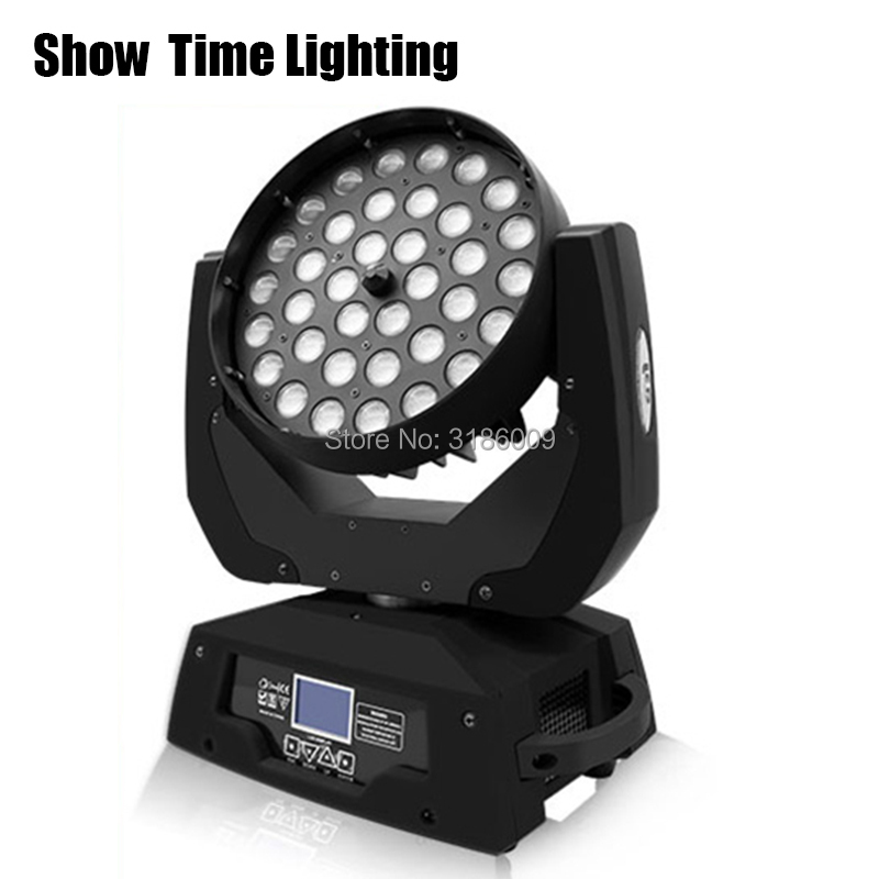 Dj Led Disco Moving Head Zoom Angle Large RGBW Dyeing Club Bar Party Performance Dance 36pcs 10W Cree Led Lamp Show Time Light