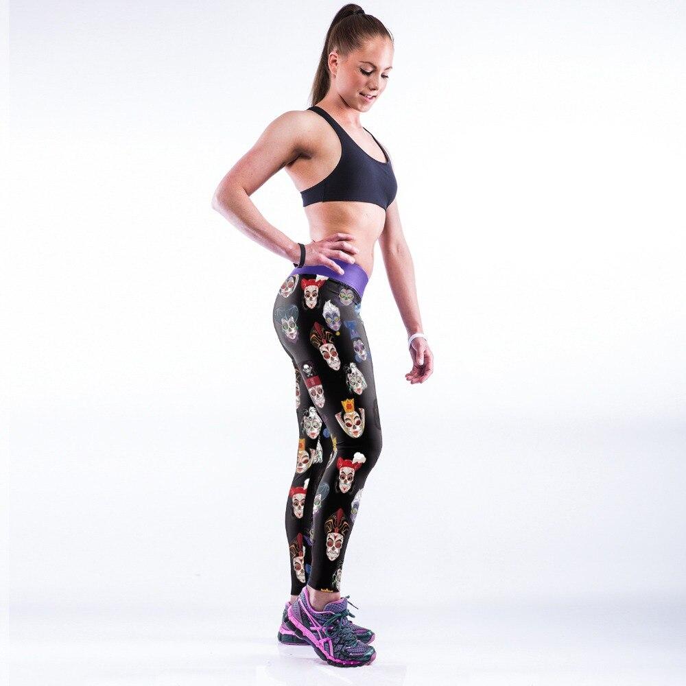 CARTOON 3D PRINT WOMEN LEGGINGS HIGH WAIST LEGGING PRINTED WOMEN PANTS SLIM FITNESS LEGGINS