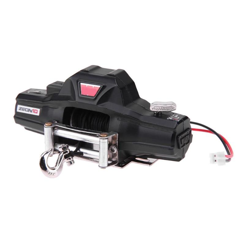 RC Rock Climbing Car Winch Remote Controller Receiver for 1/10 Axial SCX10