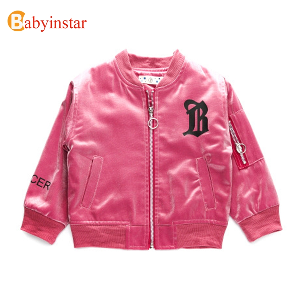 Babyinstar Infant Coats For Girls 2017 New Fashion Trend Children s Clothing Smile Face Pattern Kids