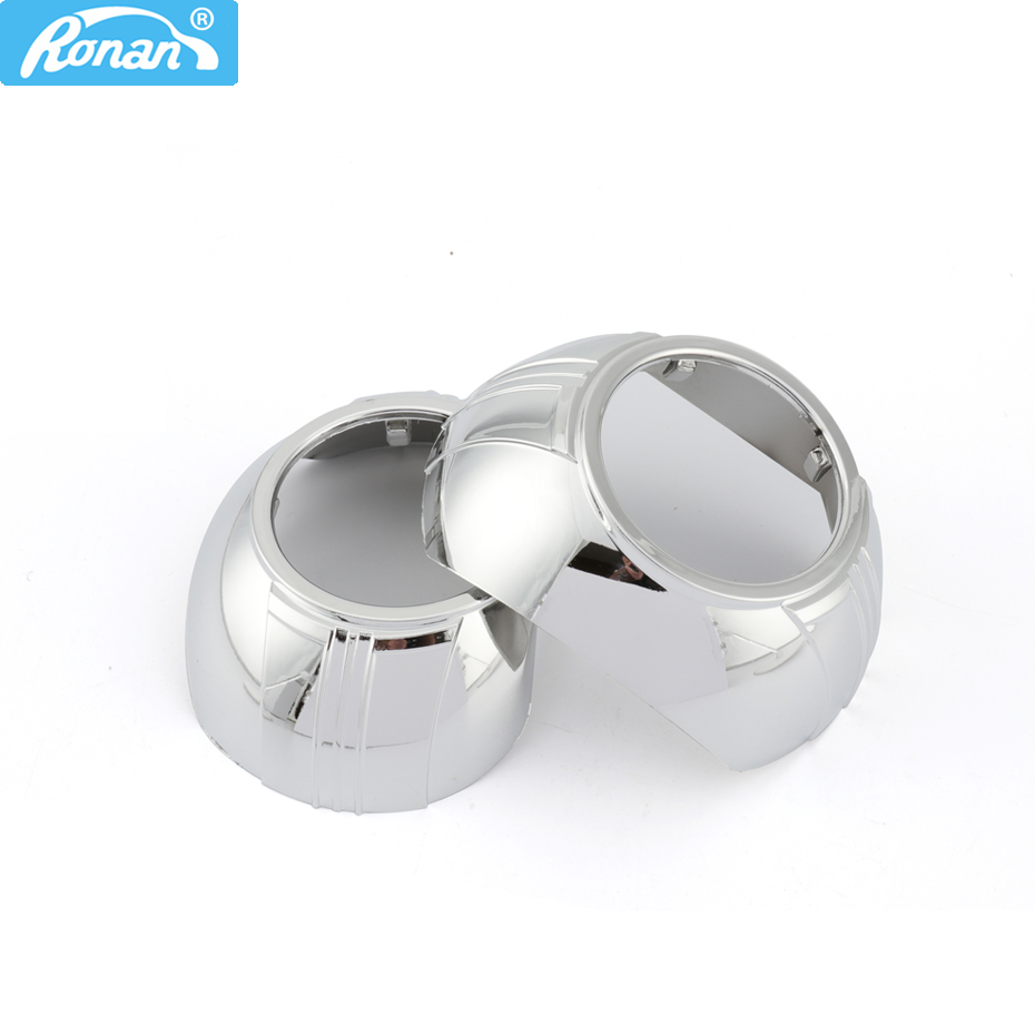 RONAN Smax Haubans Masques couvrent pour 3.0 Koito Q5 2.5 WST HID Bi Xénon Objectif Du Projecteur De Voiture Phares traducteur anneau cadeau