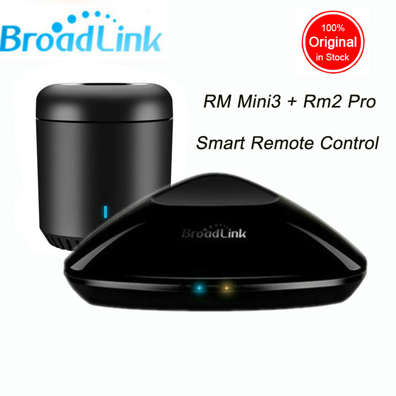 Broadlink RM Pro RM3 2018 New Version RM Mini 3 Universal Intelligent IR+RF+Wifi Remote Controller For Ios Android Smart Home