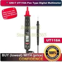 Uni t Ut118A 3000 Counts AC/DC Voltage Capacitance Resistance Pen Type Digital Multimeters Meter Detector