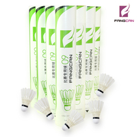 1 Tube FANGCAN FCS 09 Tournament Shuttlecock for Professional Players Badminton Shuttlecock for Competition