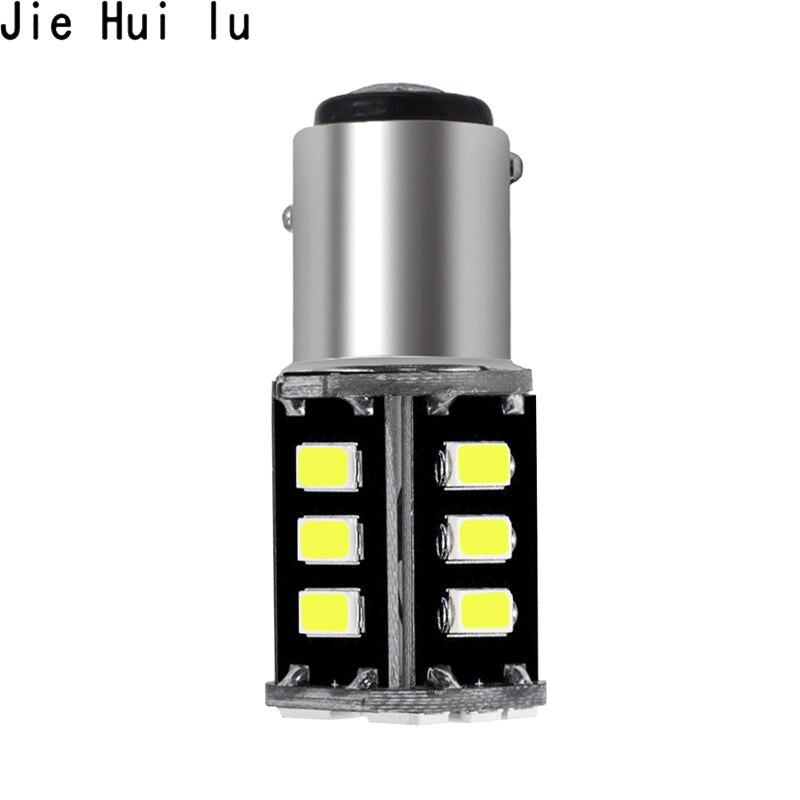 1156 Ba15s 1157 Bay15d P21w Ba15d 18led 2835 Car Led Turn Parking Signal Lights Brake Tail Lamps Auto Rear Reverse Bulbs Dc 12v