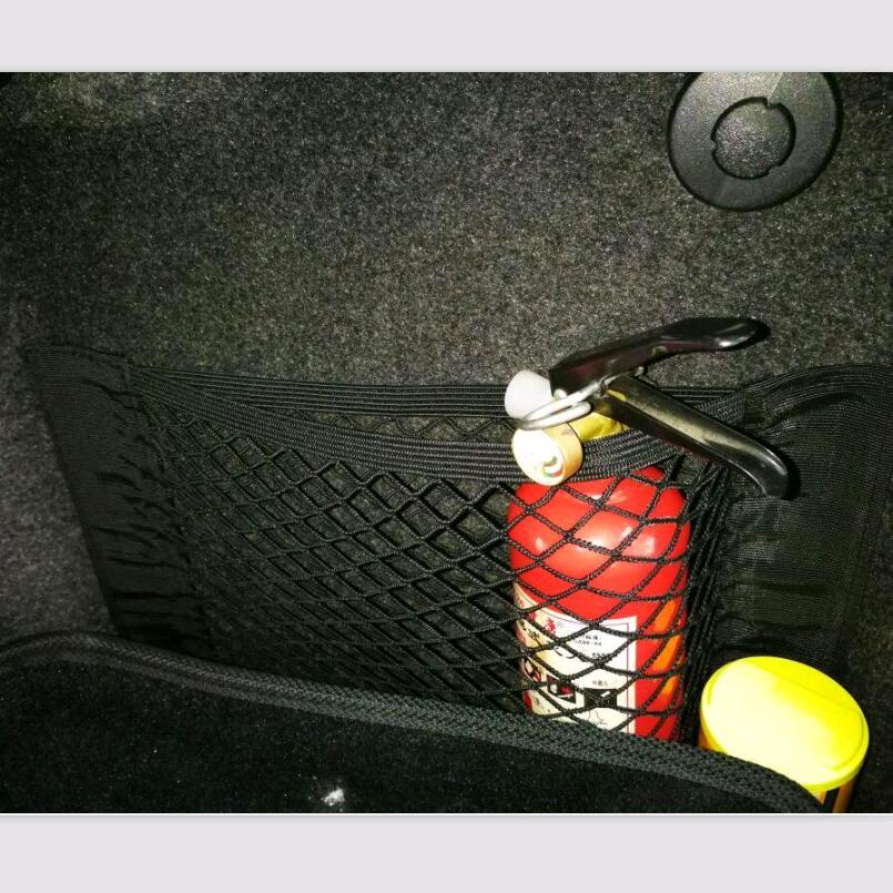 Car Seat Storage Mesh Bag Sticker FOR Mercedes Audi A4 B8 Golf 5 Bmw E60 Golf 4 Scirocco Mini Cooper Audi A3 8p Clio 4 Audi A5