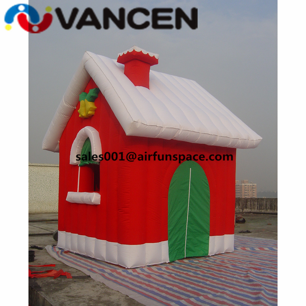 Kids play outdoor christmas inflatable tent high quality bouncer castle cheap inflatable christmas house for advertisement inflatable coffee cup for advertisement