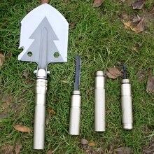Multi Кемпинг лопаты выживания Инструменты Многофункциональный складной китайский военных лопаты EDC охотничий Рыбалка утилита Лопата
