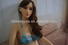 Drop ship life size the best real silicone sex dolls japanese love doll for men vagina pussy big breast oral head