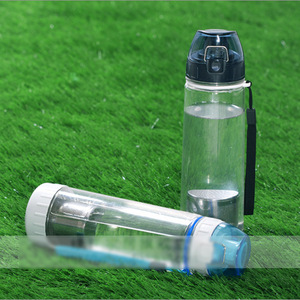 Image 5 - 550ml NEW Healthy Travel Tea Portable Sport Travel Water Bottle With Filter Strainer Tea Seal Bottles 4 Colors