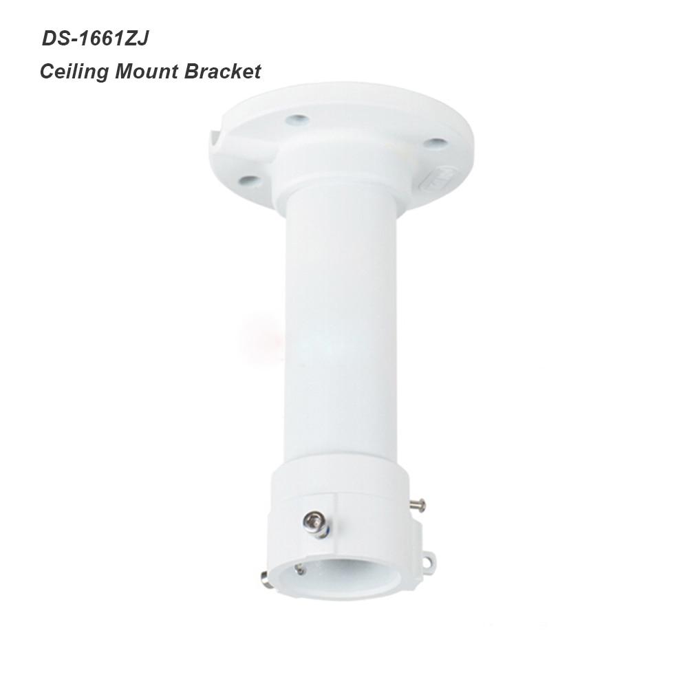 Security Surveillance DS-1661ZJ Ceiling Mount Bracket for HIKVision CCTV PTZ Camera Pendant Pole Mount Bracket White Color ds 1276zj corner mount bracket for cctv camera
